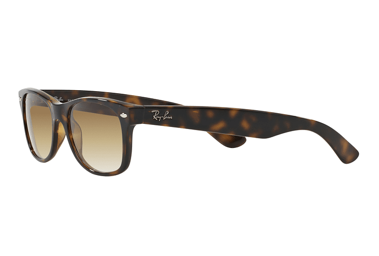 Ray Ban New Wayfarer Light Havana lente Crystal Brown Gradient cod. RB2132 710/51 55 - Image 2
