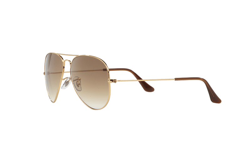 Ray Ban Aviador Gold lente Crystal Brown Gradient cod. RB3025 001/51 55 - Image 2