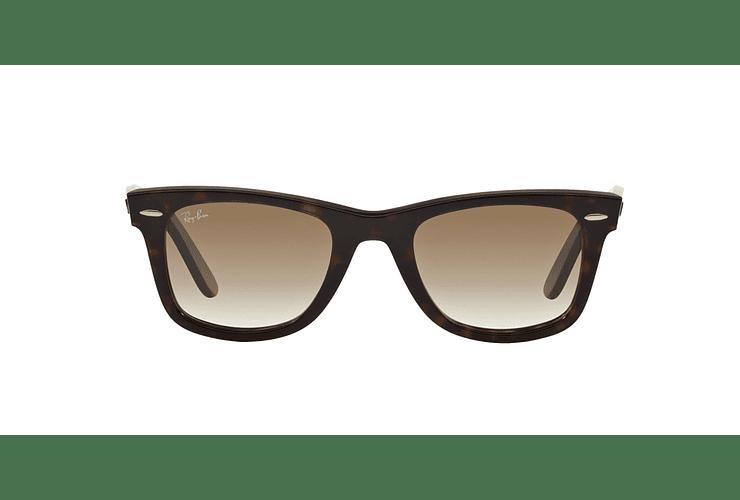 Ray Ban Wayfarer Tortoise lente Crystal Brown Gradient cod. RB2140 902/51 50 - Image 12