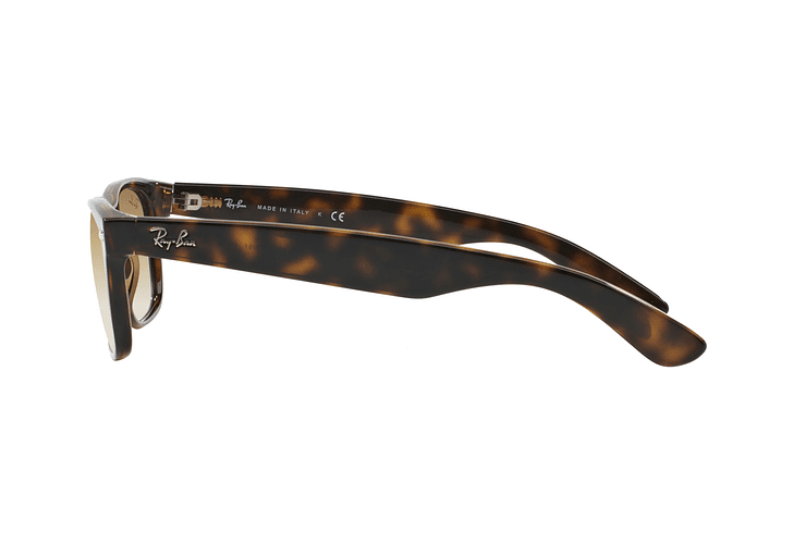 Ray Ban New Wayfarer Light Havana lente Crystal Brown Gradient cod. RB2132 710/51 55 - Image 3