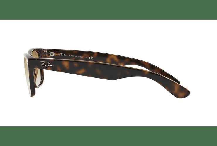 Ray Ban New Wayfarer Light Havana lente Crystal Brown Gradient cod. RB2132 710/51 55 - Image 3