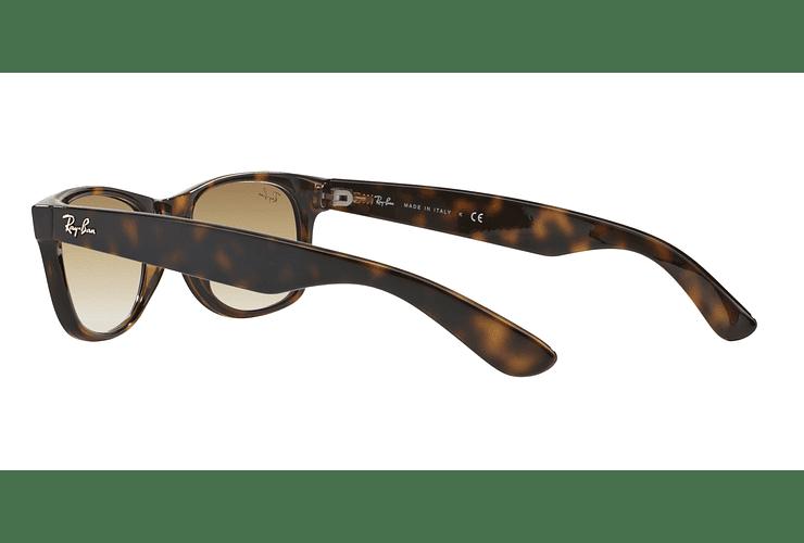 Ray Ban New Wayfarer Light Havana lente Crystal Brown Gradient cod. RB2132 710/51 55 - Image 4