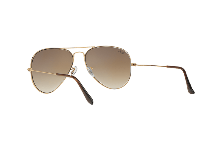 Ray Ban Aviador Gold lente Crystal Brown Gradient cod. RB3025 001/51 55 - Image 5