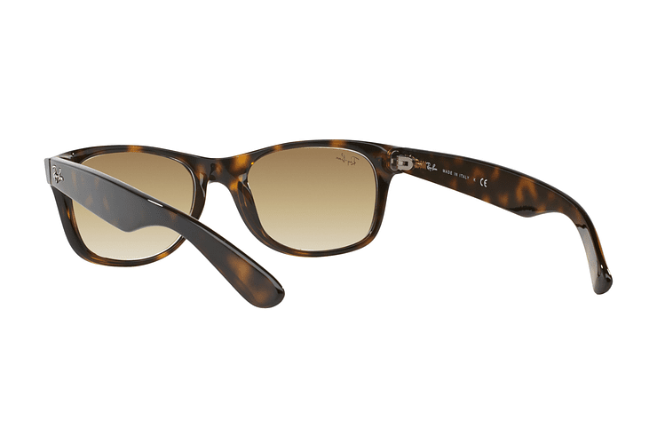Ray Ban New Wayfarer Light Havana lente Crystal Brown Gradient cod. RB2132 710/51 55 - Image 5