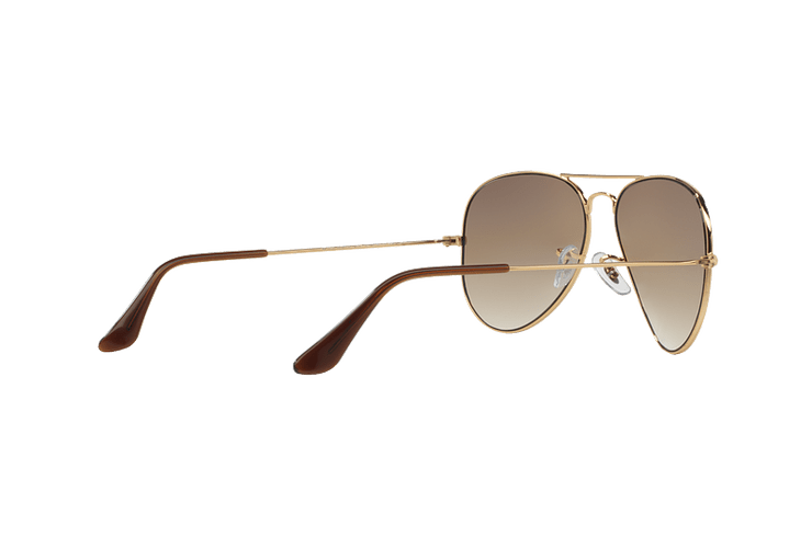 Ray Ban Aviador Gold lente Crystal Brown Gradient cod. RB3025 001/51 55 - Image 8