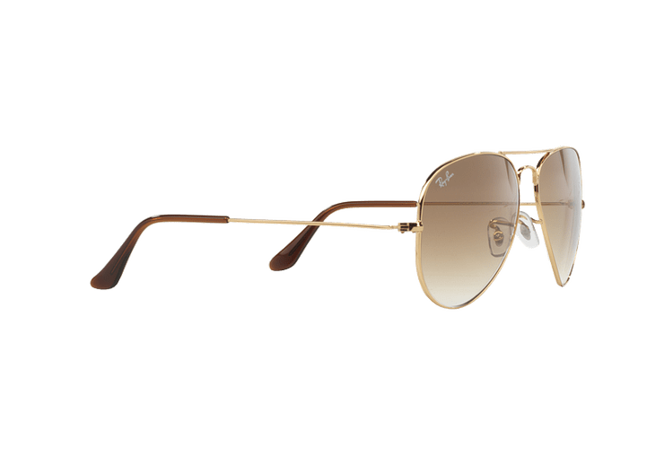 Ray Ban Aviador Gold lente Crystal Brown Gradient cod. RB3025 001/51 55 - Image 10