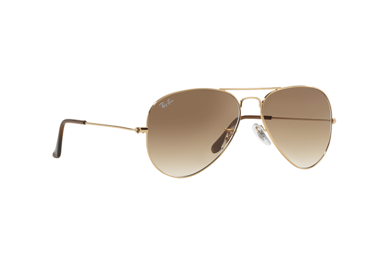 Ray Ban Aviador Gold lente Crystal Brown Gradient cod. RB3025 001/51 55 - Image 11