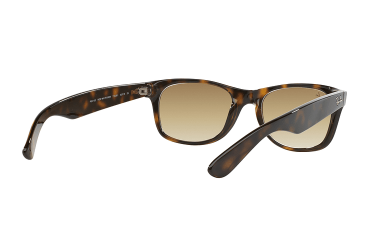 Ray Ban New Wayfarer Light Havana lente Crystal Brown Gradient cod. RB2132 710/51 55 - Image 7