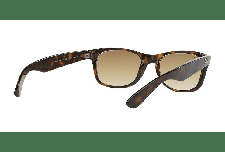 Ray Ban New Wayfarer Light Havana lente Crystal Brown Gradient cod. RB2132 710/51 55 - Image 7