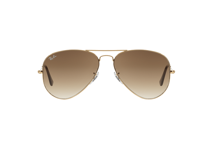Ray Ban Aviador Gold lente Crystal Brown Gradient cod. RB3025 001/51 55 - Image 12
