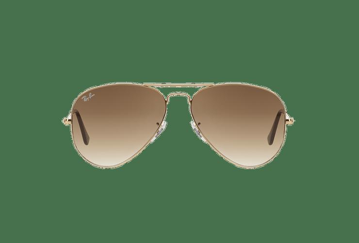 Ray Ban Aviador Gold lente Crystal Brown Gradient cod. RB3025 001/51 55 - Image 12