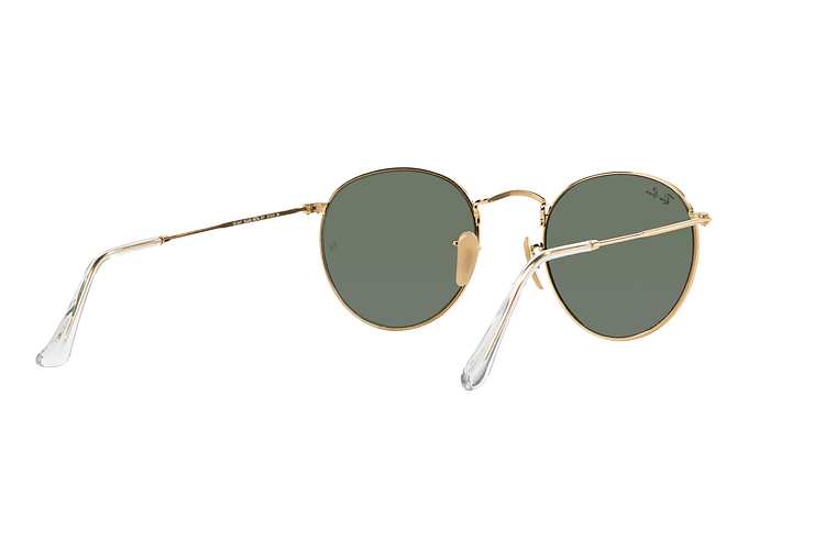 Ray Ban Round Metal Gold lente Crystal Green cod. RB3447 001 50 - Image 7