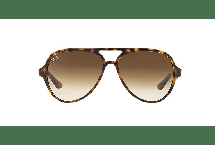 Ray Ban Cats 5000 Light Havana lente Crystal Brown Gradient cod. RB4125 710/51 59 - Image 12