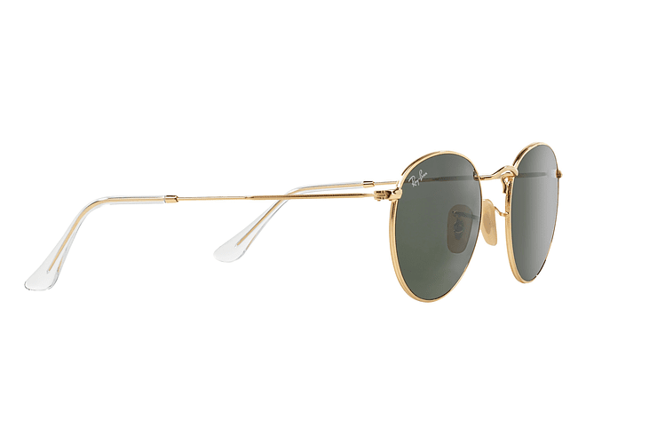Ray-Ban Round Metal Gold lente Crystal Green cod. RB3447 001 50 - Image 10