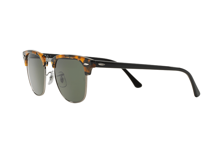 Ray Ban Clubmaster Spotted Black Havana lente Green cod. RB3016 1157 51 - Image 2