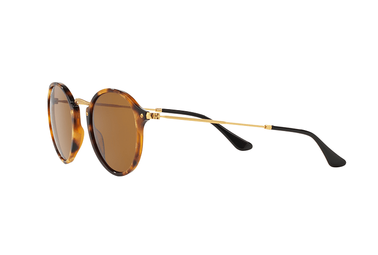 Ray Ban Round Fleck Spotted Brown Havana lente Brown cod. RB2447 1160 49 - Image 2