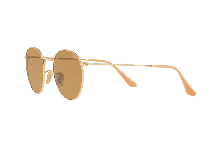 Ray Ban Round Metal Gold lente Brown Fotocromáticos cod. RB3447 90644I 50 - Image 2