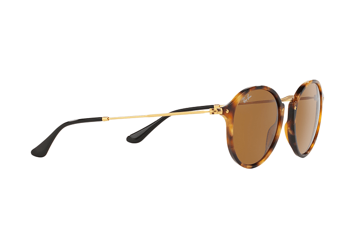 Ray Ban Round Fleck Spotted Brown Havana lente Brown cod. RB2447 1160 49 - Image 10