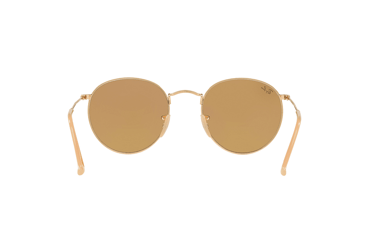 Ray Ban Round Metal Gold lente Brown Fotocromáticos cod. RB3447 90644I 50 - Image 6