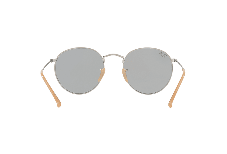 Ray Ban Round Metal Silver lente Blue Fotocromáticos cod. RB3447 9065I5 50 - Image 6