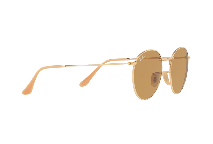 Ray Ban Round Metal Gold lente Brown Fotocromáticos cod. RB3447 90644I 50 - Image 10