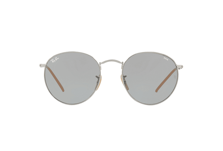 Ray Ban Round Metal Silver lente Blue Fotocromáticos cod. RB3447 9065I5 50 - Image 12