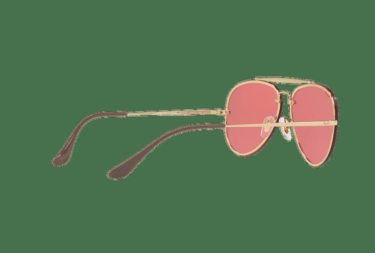 Ray Ban Aviator Blaze Gold lente Pink Mirror cod. RB3584N 9052E4 58 - Image 8