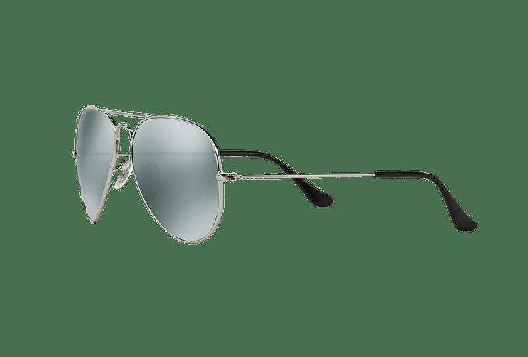 Ray Ban Aviador Silver lente Crystal Grey Mirror cod. RB3025 W3277 58 - Image 2