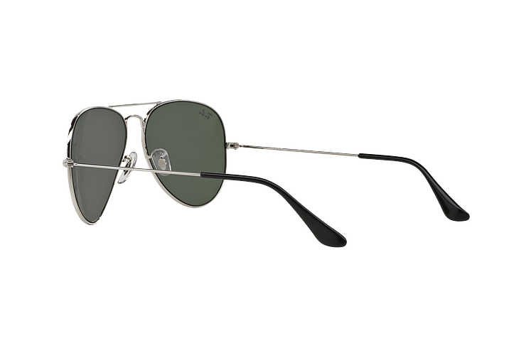 Ray Ban Aviador Silver lente Crystal Grey Mirror cod. RB3025 W3277 58 - Image 4