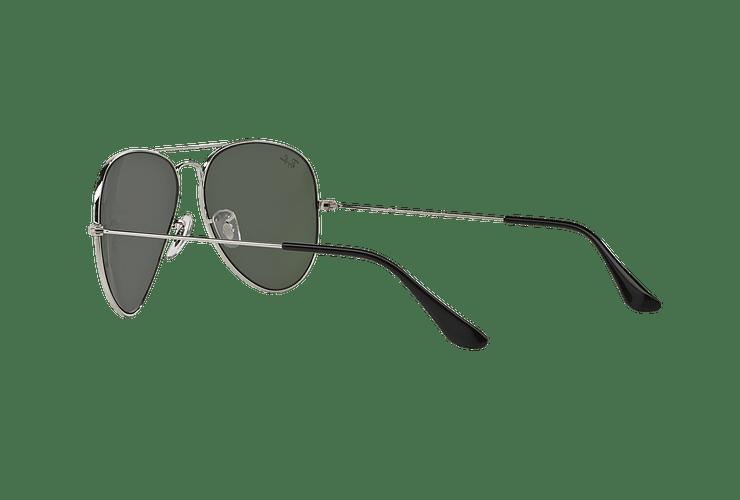 Ray Ban Aviador Silver lente Crystal Grey Mirror cod. RB3025 W3277 58 - Image 4