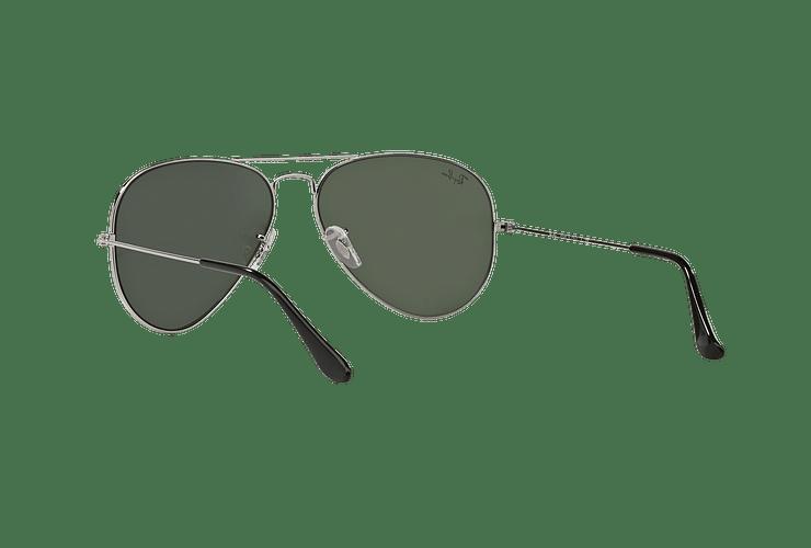 Ray Ban Aviador Silver lente Crystal Grey Mirror cod. RB3025 W3277 58 - Image 5