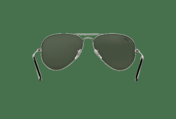 Ray Ban Aviador Silver lente Crystal Grey Mirror cod. RB3025 W3277 58 - Image 6