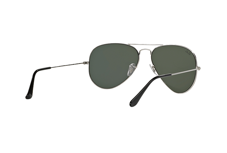 Ray Ban Aviador Silver lente Crystal Grey Mirror cod. RB3025 W3277 58 - Image 7