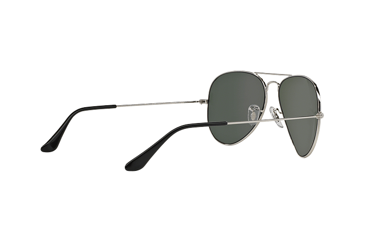 Ray Ban Aviador Silver lente Crystal Grey Mirror cod. RB3025 W3277 58 - Image 8