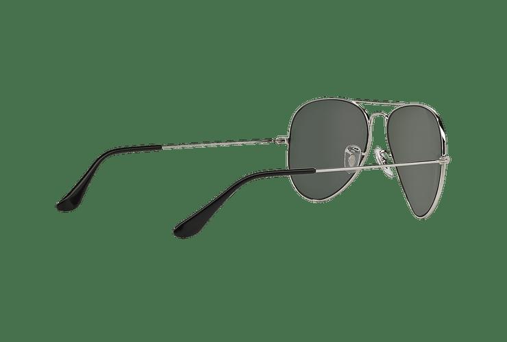 Ray Ban Aviador Silver lente Crystal Grey Mirror cod. RB3025 W3277 58 - Image 8