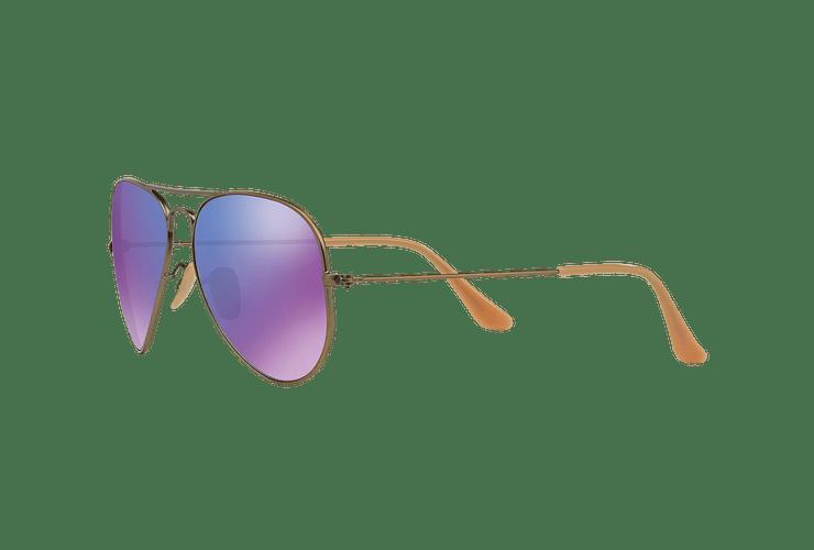 Ray Ban Aviador Bronze-Copper lente Purple mirror cod. RB3025 167/1M 58 - Image 2