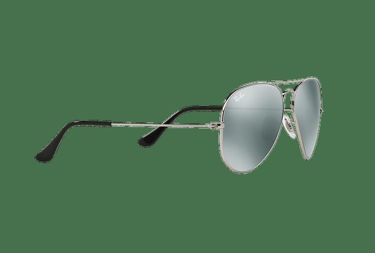 Ray Ban Aviador Silver lente Crystal Grey Mirror cod. RB3025 W3277 58 - Image 10