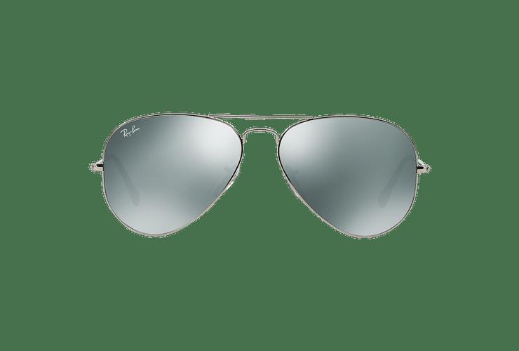 Ray Ban Aviador Silver lente Crystal Grey Mirror cod. RB3025 W3277 58 - Image 12