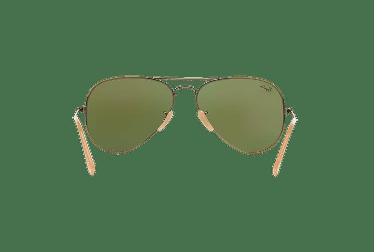 Ray Ban Aviador Bronze-Copper lente Purple mirror cod. RB3025 167/1M 58 - Image 6