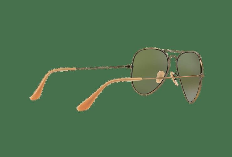 Ray Ban Aviador Bronze-Copper lente Purple mirror cod. RB3025 167/1M 58 - Image 8