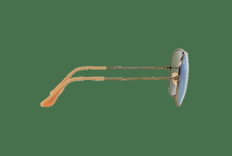 Ray Ban Aviador Bronze-Copper lente Purple mirror cod. RB3025 167/1M 58 - Image 9