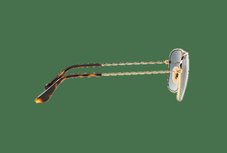 Ray-Ban Caravan Gold lente Grey Gradient cod. RB3136 181/71 58 - Image 9