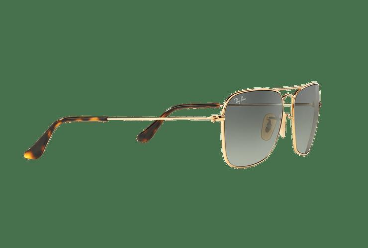 Ray-Ban Caravan Gold lente Grey Gradient cod. RB3136 181/71 58 - Image 10