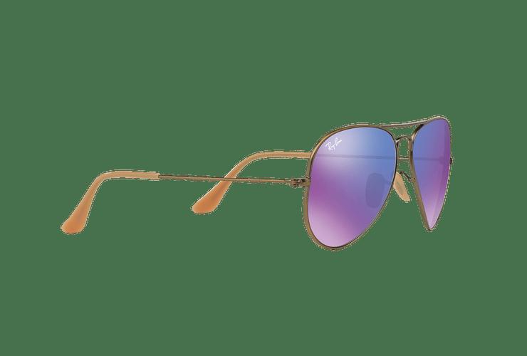 Ray Ban Aviador Bronze-Copper lente Purple mirror cod. RB3025 167/1M 58 - Image 10