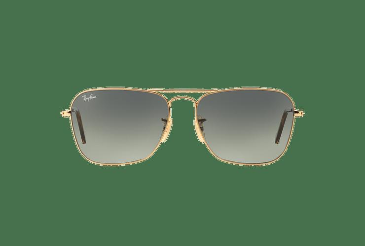 Ray-Ban Caravan Gold lente Grey Gradient cod. RB3136 181/71 58 - Image 12