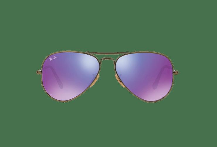 Ray Ban Aviador Bronze-Copper lente Purple mirror cod. RB3025 167/1M 58 - Image 12
