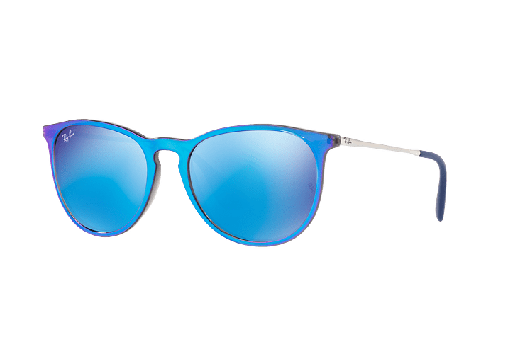 Ray Ban Erika Flash blue lente Blue Mirror cod. RB4171 631855 54 - Image 1