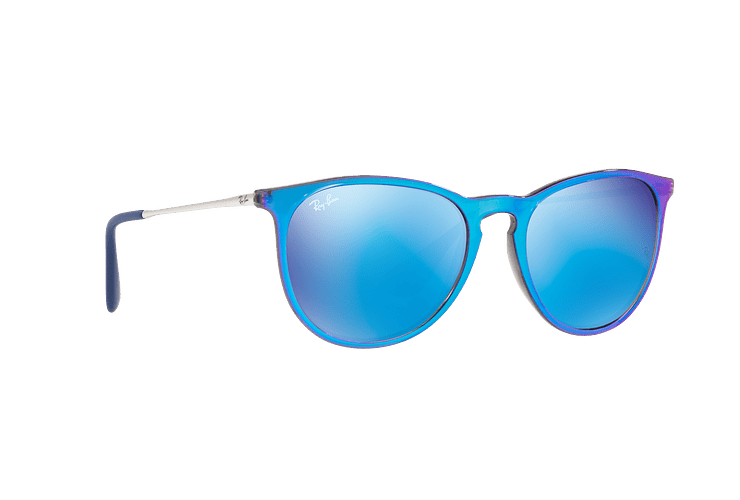 Ray Ban Erika Flash blue lente Blue Mirror cod. RB4171 631855 54 - Image 11