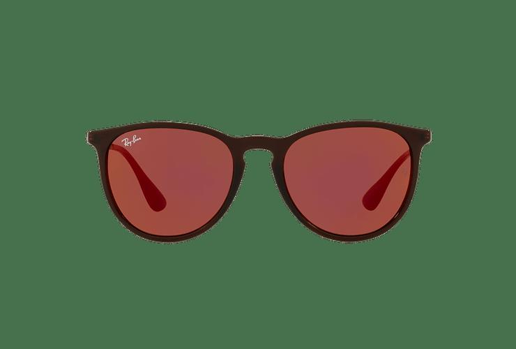 Ray-Ban Erika Brown lente Dark violet / red cod. RB4171 6339D0 54 - Image 12