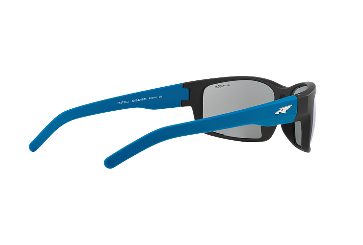 Arnette Fastball Fuzzy Black lente Blue Mirror cod. AN4202 226855 62 - Image 8